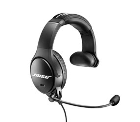 BOSE SOUNDCOMM B40 HEADSET Single sided, right sided earphone/boom arm, 4-pin XLRF