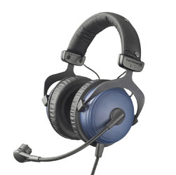 BEYERDYNAMIC DT 797 HEADSET 250 ohms, with 300 ohms condenser mic, XLR3M, 6.35mm jack