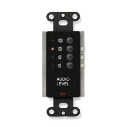 RDL DB-RLC3 REMOTE Level controller, 4x preset levels, black