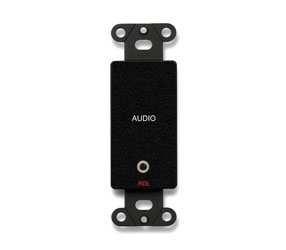 RDL DB-MJPT AUDIO INTERFACE Bi-directional, 1x 3.5mm jack in, 1x 3.5mm jack out, black