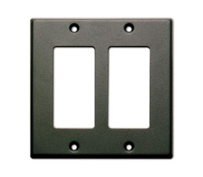 RDL CP-2B COVER PLATE Double, for SMB-2/DC-2/WB-2U, black