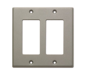 RDL CP-2G COVER PLATE Double, for SMB-2/DC-2/WB-2U, grey