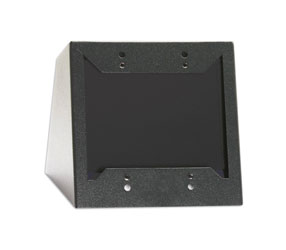 RDL DC-2B MOUNTING CHASSIS Double, desktop/wall mounted, for Decora style modules, black