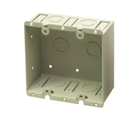 RDL WB-2U UNIVERSAL WALL BOX Double, for 2x RDL remote/wallplates