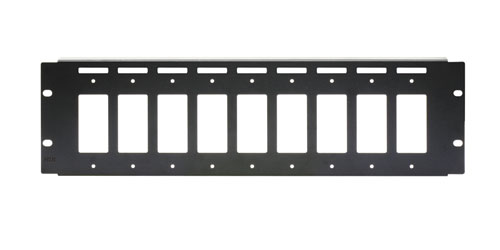 RDL RM-D9 RACK MOUNT CHASSIS For 9 Decora modules, 19-inch rackmount, 3U