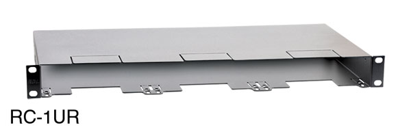 RDL RC-1UR CHASSIS Rack mount, 1U, for 3x Rack-Up modules and Stick-On/TX series modules