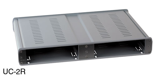 RDL UC-2R ENCLOSURE CASE For 4x Rack-Up modules