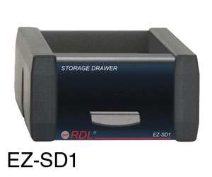 RDL EZ-SD1 STORAGE DRAWER For EZ-RA6 or EZ-CC6 chassis, 1/6 rack width