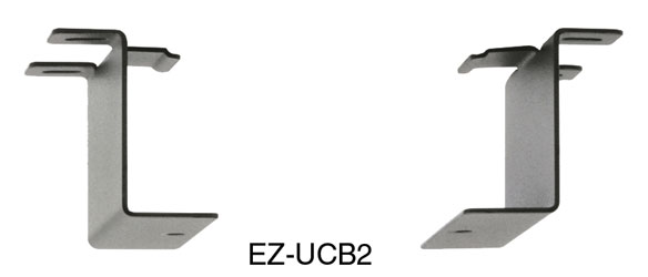 RDL EZ-UCB2 BRACKET For EZ-Series, under counter, pair