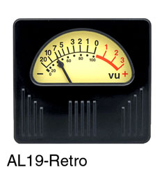 SIFAM AUDIO LEVEL METER AL19-Retro