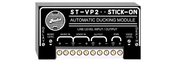 RDL ST-VP2 PAGING MODULE Automatic ducking, adjustable depth