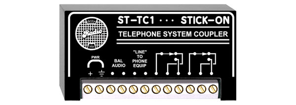 RDL ST-TC1 TELEPHONE COUPLER Telco CO line simulation
