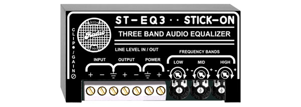 RDL ST-EQ3 SIGNAL PROCESSOR 3-band EQ, line level