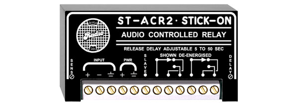 RDL ST-ACR2 AUDIO CONTROLLED RELAY Line level, 5 to 50 second release delay