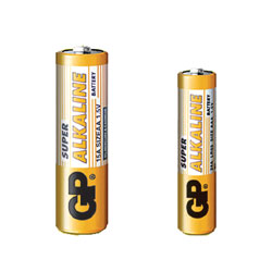 GP 24A BATTERY, AAA size, alkaline, Super series (box of 40)