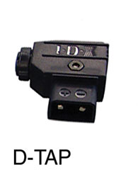 IDX D-TAP Two-pin D-Tap connector, male