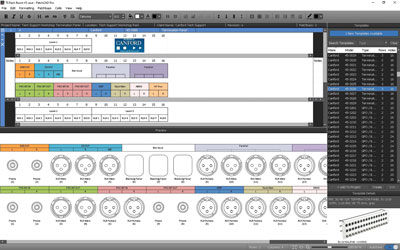 PATCHCAD PRO Patchbay Design and Labelling Software for Windows PC