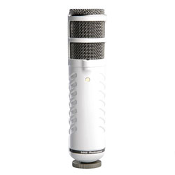 RODE PODCASTER MICROPHONE Dynamic, cardioid, end address, USB