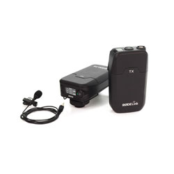 RODE RODELINK FILMMAKER KIT RADIOMIC SYSTEM Digital, lapel mic, on-camera RX, 2.4GHz