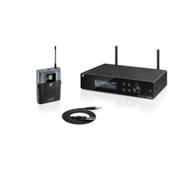 SENNHEISER XSW2-CI1 INSTRUMENT RADIOMIC SYSTEM Beltpack, 821-832MHz and 863-865MHz, ch.70 ready