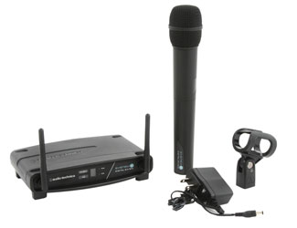 AUDIO TECHNICA SYSTEM 10 ATW-1102 RADIOMIC SYSTEM Handheld, fixed Rx, unidirectional, 2.4 GHz