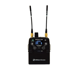 WISYCOM MPR50-IEM IN EAR MONITOR RECEIVER Beltpack, 470-700MHz