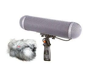 RYCOTE 086001 MODULAR WINDSHIELD WS 4 KIT Mono type, with 3-pin XLR Connbox