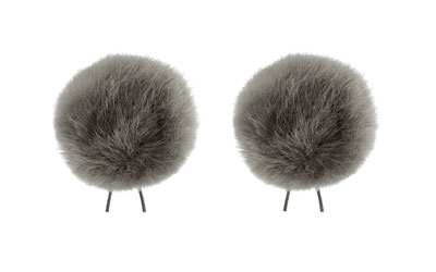 BUBBLEBEE THE TWIN WINDBUBBLES WINDSHIELD Furry, lav, size 4, 42mm opening, twin pack, grey