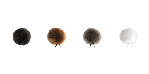 BUBBLEBEE THE WINDBUBBLES UNITED WINDSHIELDS Furry, size 2, 4 pack, black/brown/white/grey