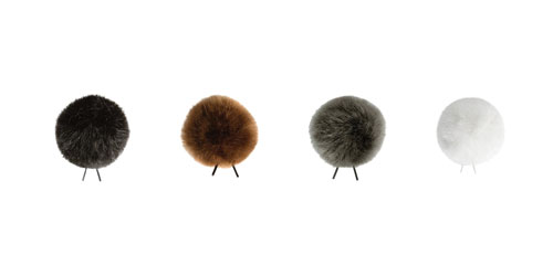 BUBBLEBEE WINDBUBBLES UNITED WINDSHIELDS Furry, size 3, 4 pack, black/brown/white/grey
