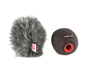 RYCOTE 039710 BASEBALL 19/20 MICROPHONE WINDSHIELD With Baseball Windjammer