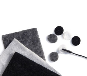 RYCOTE 065504 UNDERCOVERS MIC MOUNTS Stickies and fabric Undercovers, mixed (1pk of 30+30)