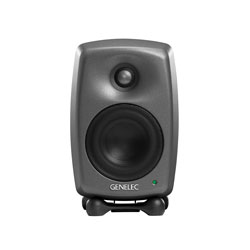 GENELEC 8020D LOUDSPEAKER Active, 2-way, 50/50W, class D amplifiers, studio, dark grey, (pair)