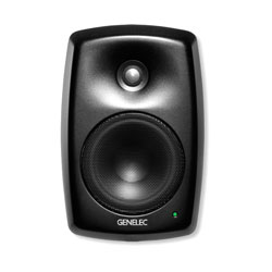 GENELEC 4040A LOUDSPEAKER Active, 2-way, 120/120W, installation, balanced Phoenix input, black