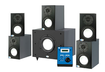 BLUE SKY PRODESK MKIII 5.1 LOUDSPEAKER SYSTEM Active, 5x Sat5, 1x Sub8, bass control