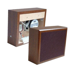 ADS KESTREL 4 LOUDSPEAKER Cabinet, wall fix, 0.125-4W taps, teak