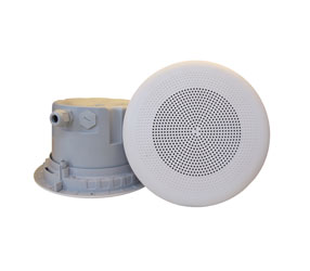 DNH BPF-560CR LOUDSPEAKER Ceiling, 6W, 20 ohms, white RAL9010, clean-room