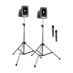 ANCHOR MEGAVOX 2 MEGA-DP2-AIR PA SYSTEM Package with MEGA2-XU2, MEGA2-AIR, 2x SS-550, 2x radiomic TX