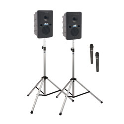 ANCHOR GO GETTER 2 GG-DP2-AIR PA SYSTEM Package with GG2-XU2, GG2-AIR, 2x SS-550, 2x radiomic TX