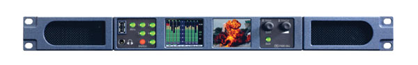 TSL PAM1 IP 3G AUDIO MONITOR 16 channel display, 2x HD/SDI I/O, 4x AES I/O, Dolby, AOIP
