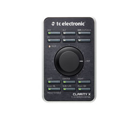 TC ELECTRONIC CLARITY X MONITOR CONTROLLER Multi format, speaker calibration, sound exposure meter