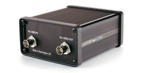 CANFORD VIDEO ISOLATOR Analogue video isolation transformer, single channel
