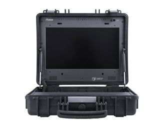RUIGE TL1730HDA-CO LCD MONITOR 17.3 inch, 4:3 / 16:9, CVBS, 2x HD/SDI, HDMI, VGA in, carry-on case