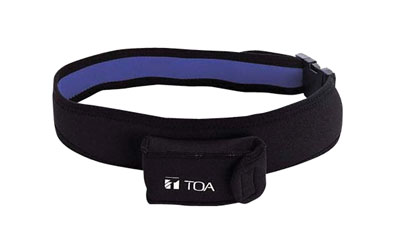 TOA WH-4000P BELTPACK POUCH For WM-5325, black