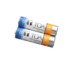 TOA WB-2000-2 BATTERIES For WM-5225/WM-5325 wireless transmitter