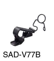 SONY SAD-V77B MICROPHONE CLIP For 1x ECM-77 series, crocodile style, vertical, black