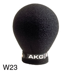 AKG W 23 Foam windshield for D 65/80/ 90/95/230/310/3 microphone