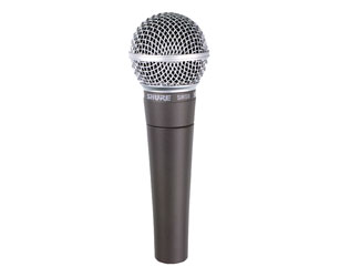 SHURE SM58 MICROPHONE Vocal dynamic, cardioid