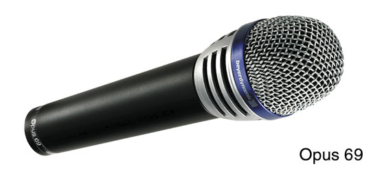 BEYERDYNAMIC OPUS 69 MICROPHONE Live/studio, vocal