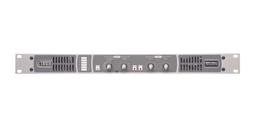 CLOUD MPA120MK2 MIXER AMPLIFIER 120W/4/70V/100V, 2x mic in, 6x line in, 1x mono out, 1U